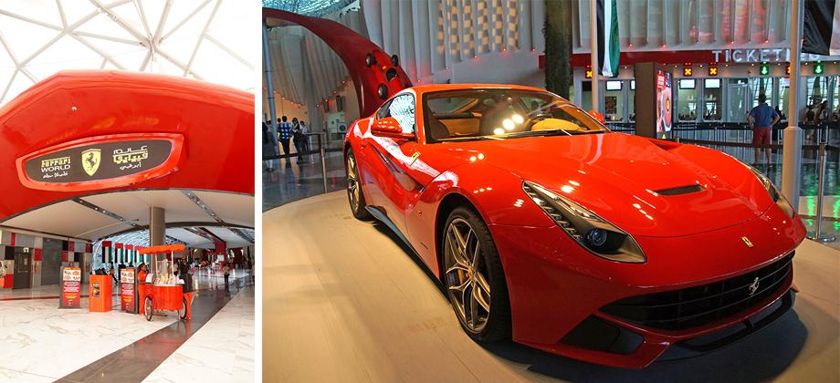 Ynas Reise BLog   VAE   Ferrari World