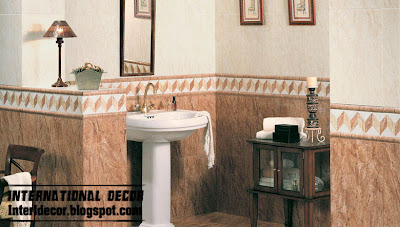 classic brown tiles design bathroom wall ceramic tiles design Classic wall tiles designs, colors,schemes bathroom ceramic tiles