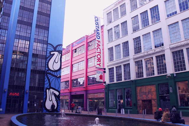 Custard Factory Digbeth Birmingham