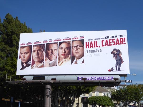 Hail Caesar film billboard