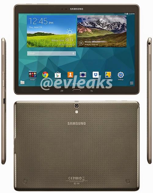 Spesifikasi dan Harga Samsung Galaxy Tab S | Akan Segera Rilis
