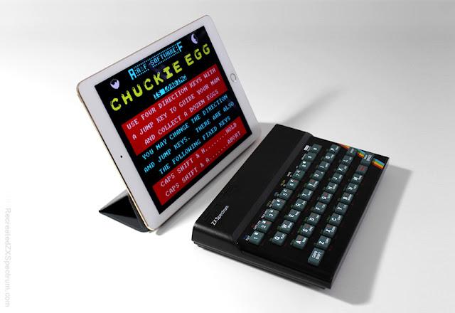Elite se atreve ahora con el 'Recreated ZX Spectrum', un teclado Bluetooth