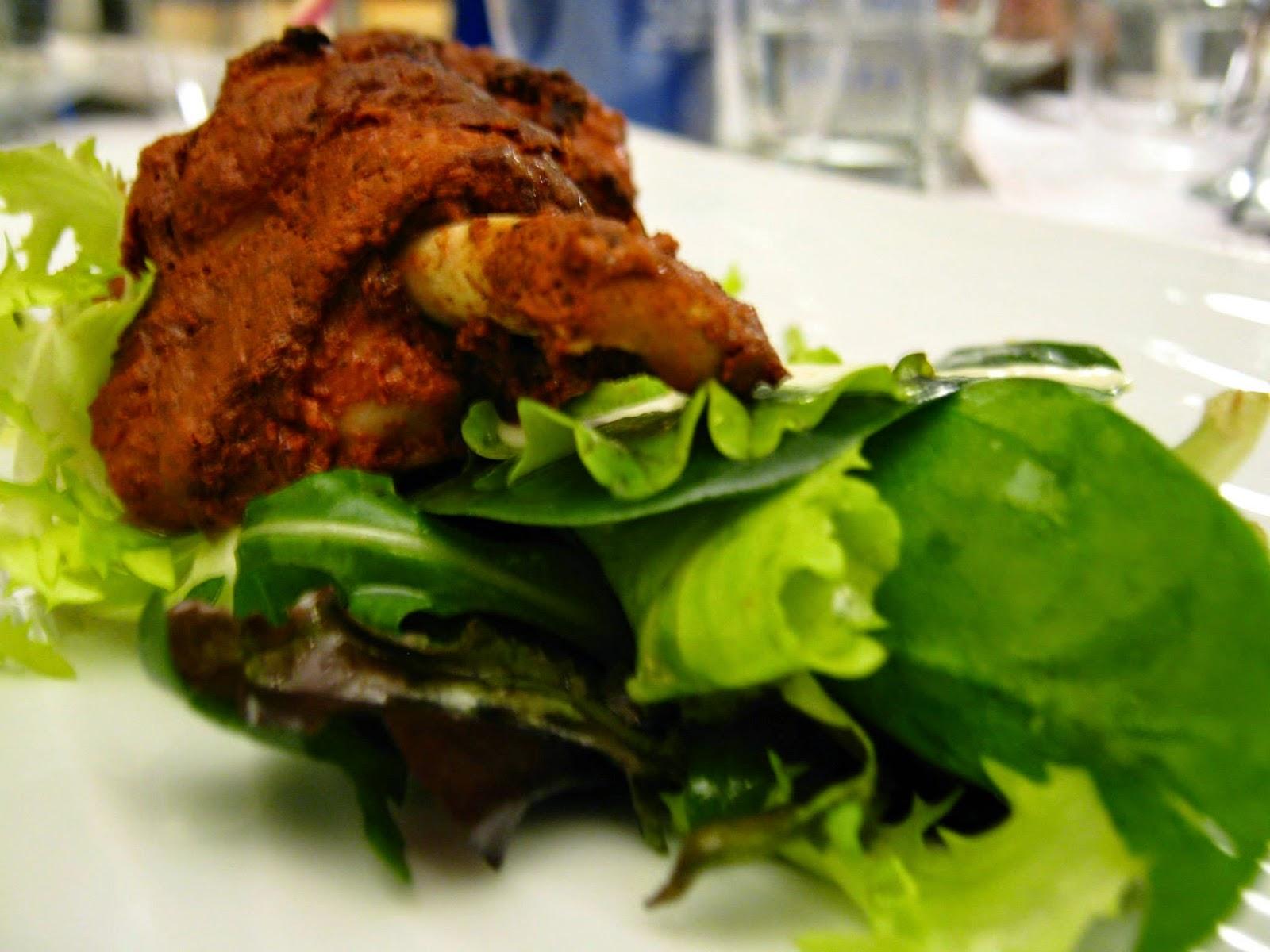 alette di pollo  tandoori