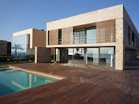 mediterranean house in the sea - ametlla226