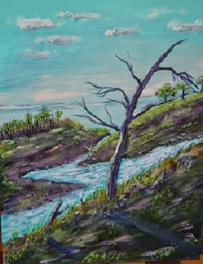 Rushing Waters (2009) Price: $175