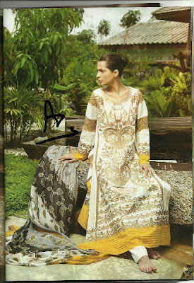 Lakhani Zunuj Mid Summer Lawn Collection 2012
