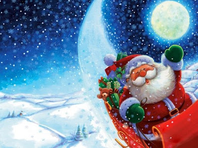 Picture of Santa Clause for Merry Christmas Wallpaper