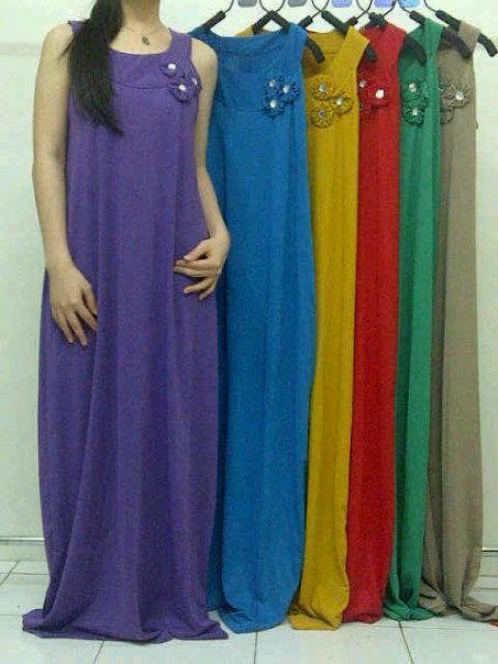 Trends Model Baju Gamis Modern Terbaru 2015