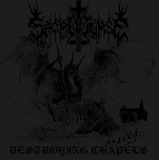 "Sacrocurse - Destroying Chapels 7"" EP review."