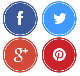 Social Media Icon Round