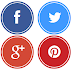 Share Social media round buttons