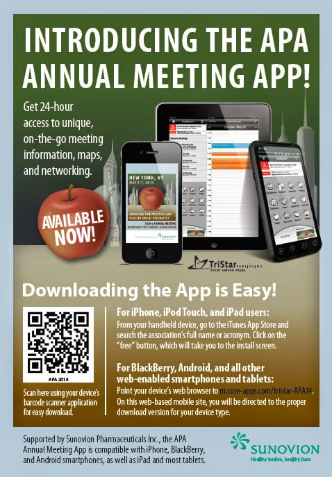 psych news alert apa annual meeting mobile app now available