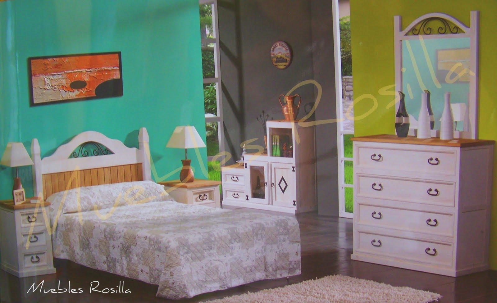 Muebles rosilla herv s dormitorio juvenil de forja for Muebles hervas