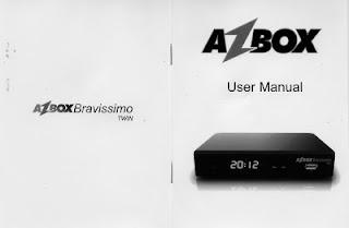 Azbox Bravissimo Twin MANUAL 2013