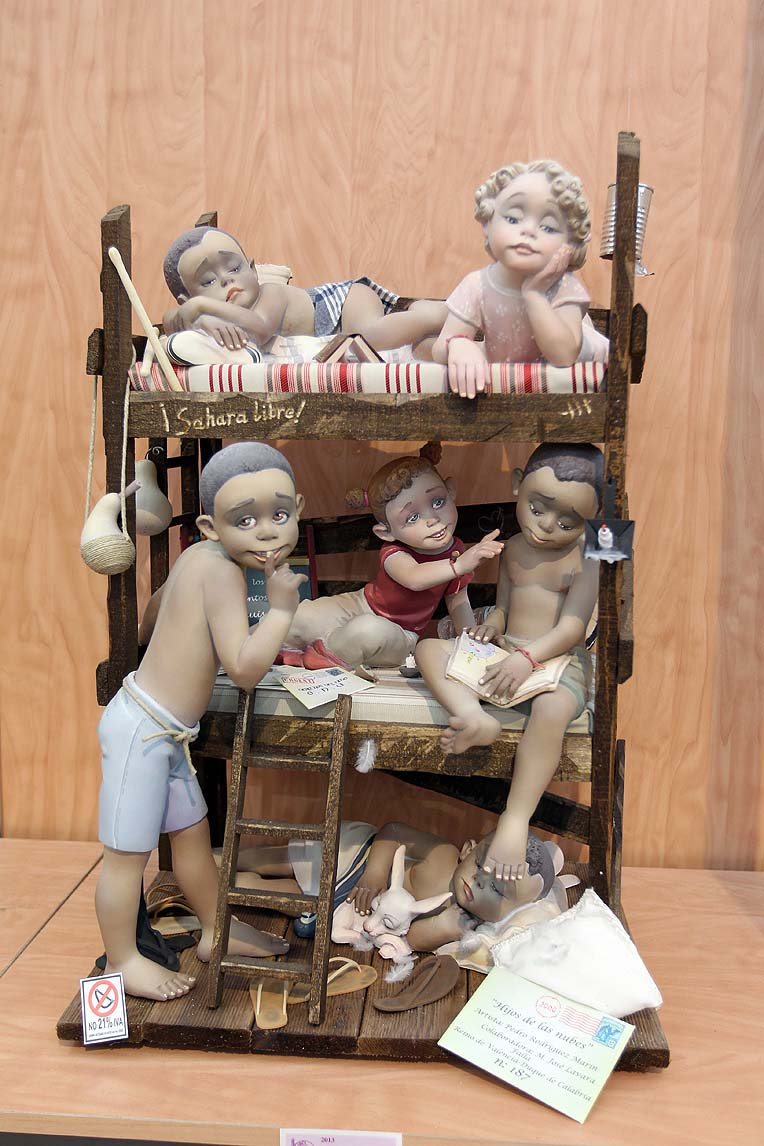 Ninot Indultat Infantil 2013