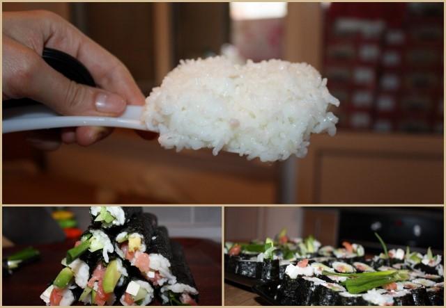 как сварить рис для роллов в мультиварке