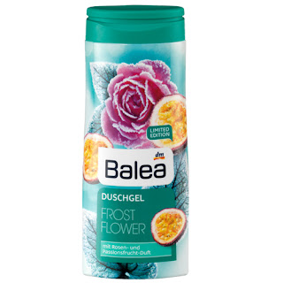 Preview: Balea Limited Edition: Der Herbst kommt! - Balea Frost Flower Duschgel - www.annitschkasblog.de
