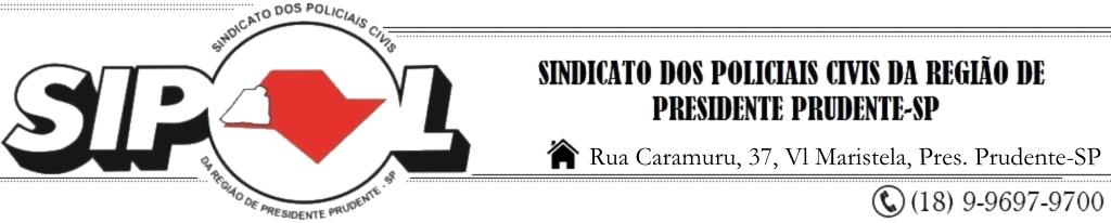 SIPOL - ESTADO DE SÃO PAULO - BRASIL - POLÍCIA CIVIL