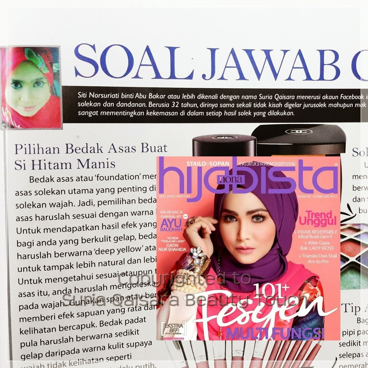 I'M IN HIJABISTA MAGAZINE!!