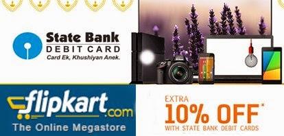 Flipkart Diwali Offer: 10 % discounts on SBI Debit Cards