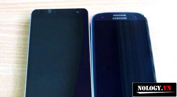 Hình ảnh của LG Optimus GK và Samsung Galaxy S3
