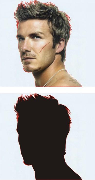 cara-mudah-buat-foto-pop art dengan coreldraw-line art-negatif