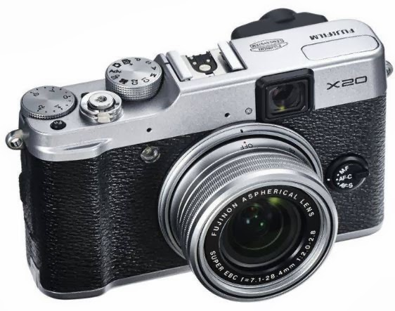 Harga dan Spesifikasi Kamera Fujifilm Finepix X20 -12MP