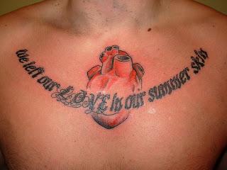 Τατουαζ στο στήθος, Chest tattoos,