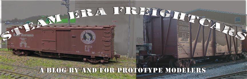 Modeling Steam Era Freight Cars