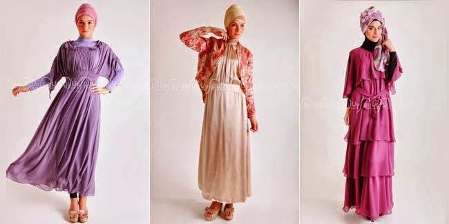 Model baju pesta muslimah favorit remaja