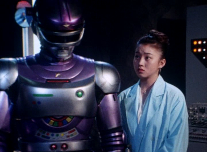 Tokusou Robo Janperson Janperson and Kaoru Saegusa