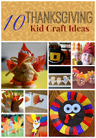 10 Thanksgiving Kid Craft Ideas