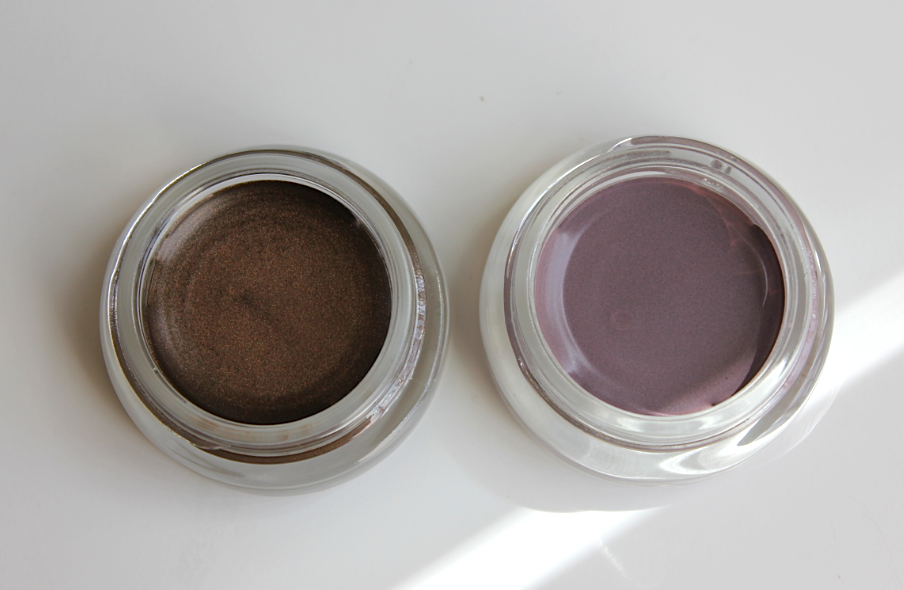 Review Swatches Maybelline Leather Color Tattoo Eyeshadow Chocolate Suede Vintage Plum