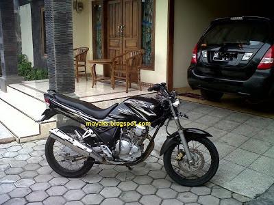 Modifikasi Lampu Depan Yamaha Scorpio