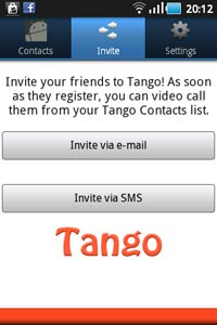 Tango Download Process 5