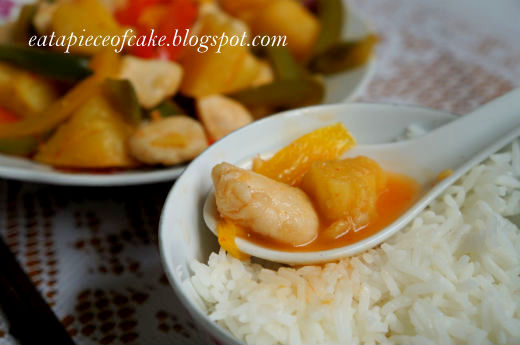 Piece of Cake: Thai Chicken and Pineapple Stir Fry