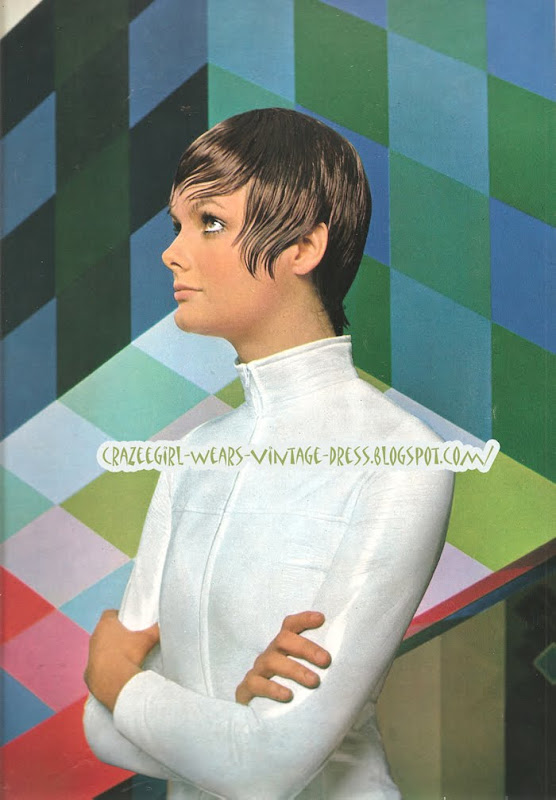 1971 - Hairstyles book haircut 1970 70s Victor Vasarely