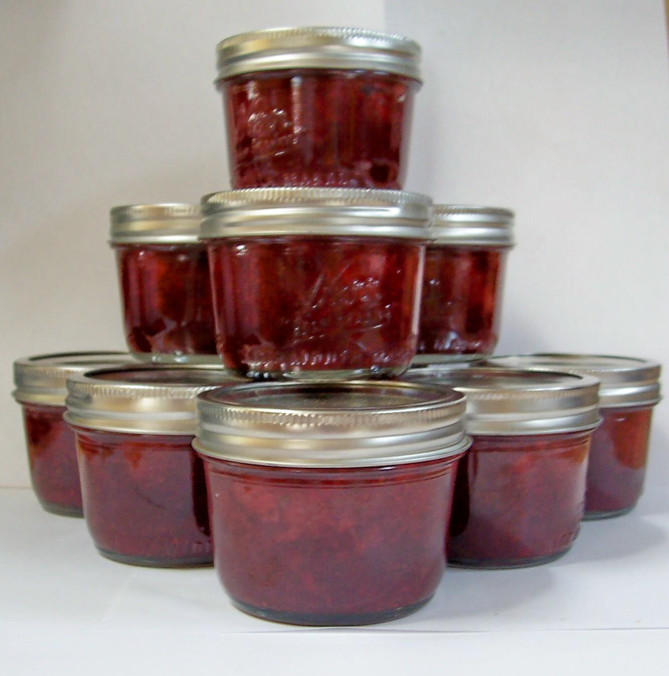 ... Musings of an Antique Lil Girl: Strawberry Balsamic Jam w/Lemon Thyme
