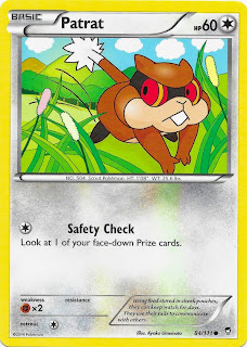 Patrat Furious Fists Pokemon Card
