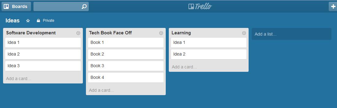 Trello example