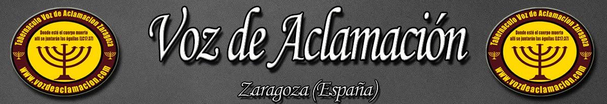Tabernáculo Voz de Aclamación Zaragoza