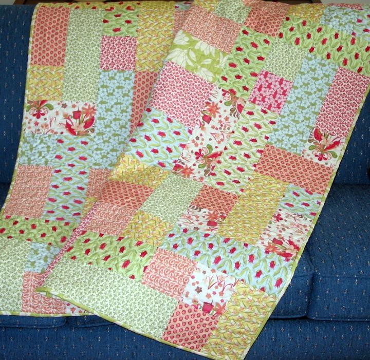 Super Easy Beginner Quilt Patterns : Suelynns Quilt Designs: Mad Patcher Quilt Pattern