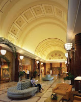 Cinema lobby in brunei Empire Hotel