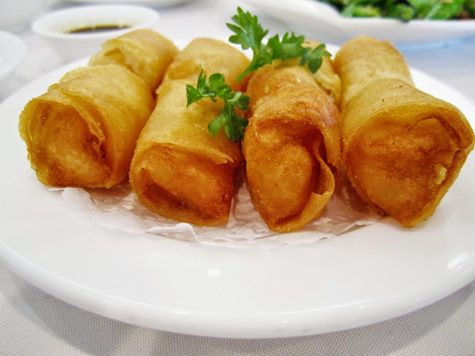 THAI FOOD Recipes : Cooking Menu Deep fried spring rolls.(Por Pia Tod)