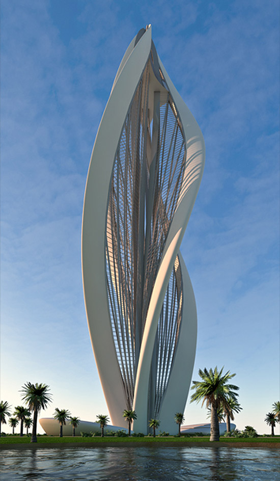 modern architecture blossoming dubai muddlex