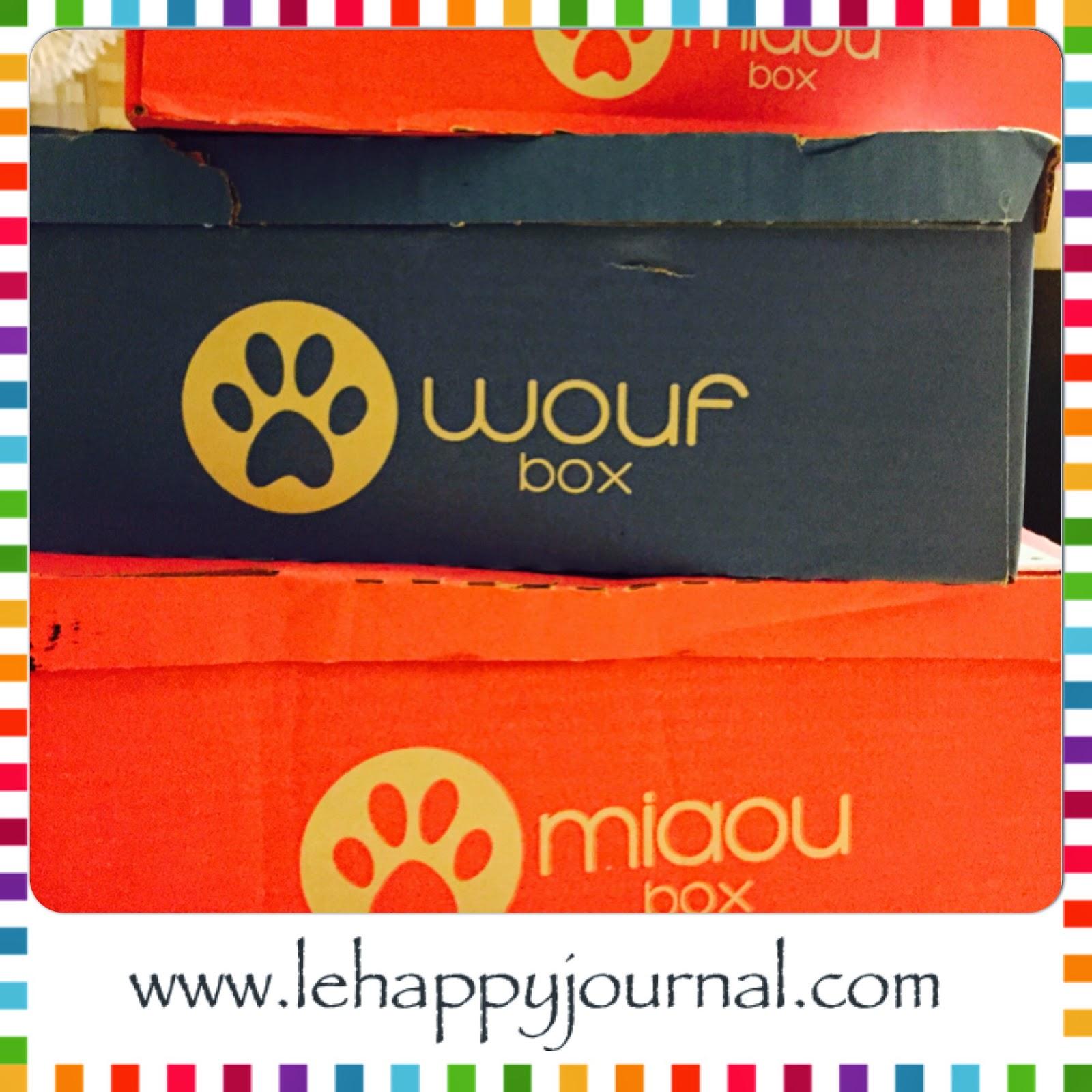 miaoubox, woufbox, box, coffret, chat, chien, cadeau, happy journal, partenaires