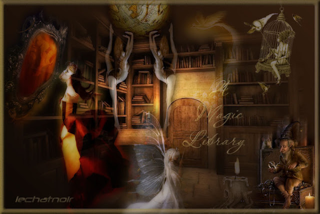 my magic library by - photo #2