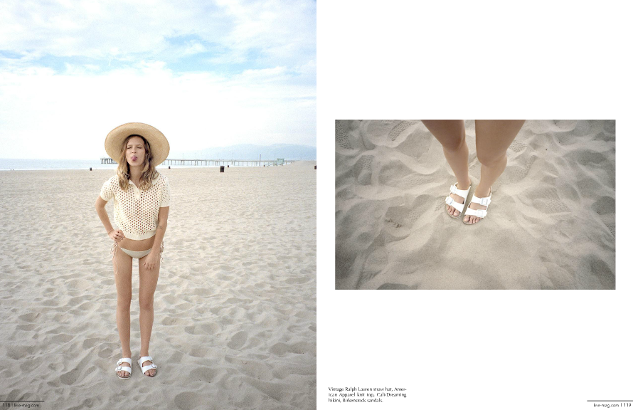 Venice Beach Bum Editorial shot by Emily Knecht styled by Kate Brien