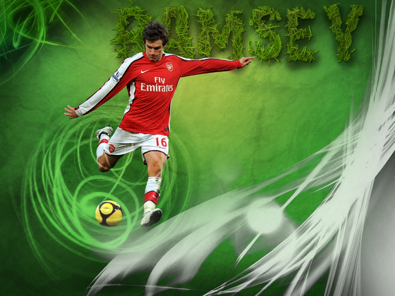 max pic log: World Sports Hd Wallpapers: Aaron Ramsey Hd ...