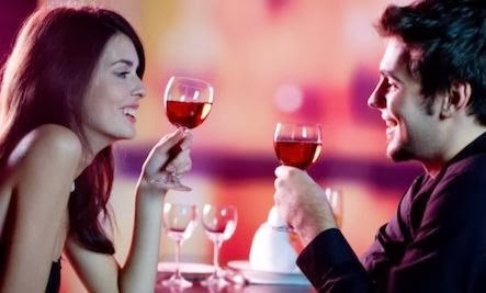 Can Drinking Predict Your Compatibility - man woman drink wine champagne